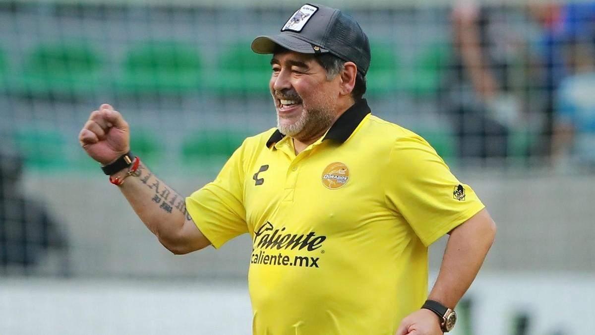 Дієго Марадона може бути тренером у Іспанії