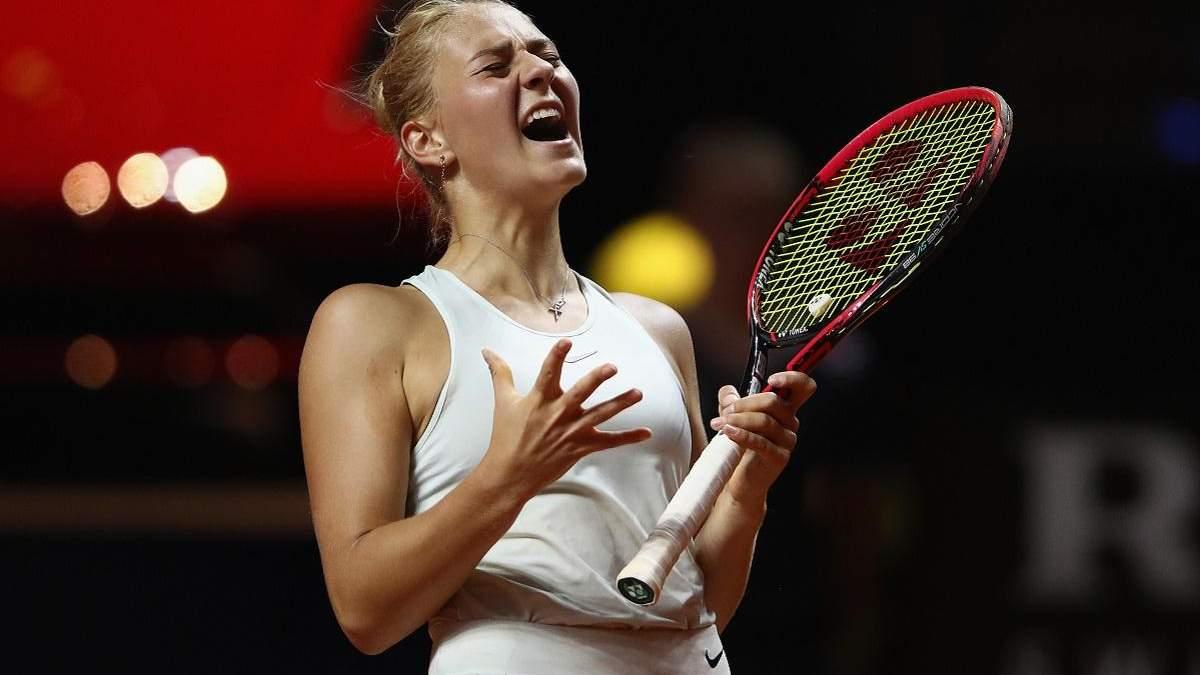 Марта Костюк буде дебютувати на US Open