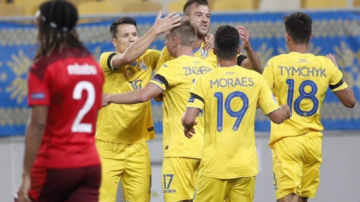 Украина – Швейцария: обзор, счет и видео голов матча Лиги наций