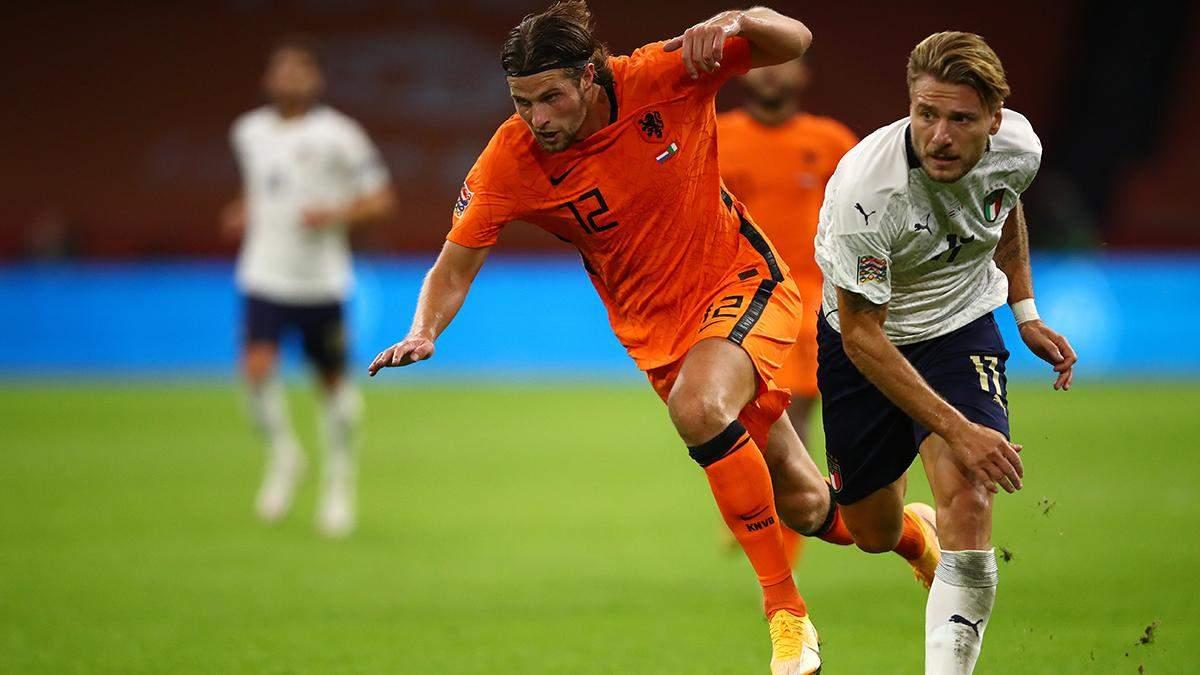Нідерланди – Італія: результат матчу та відео голів