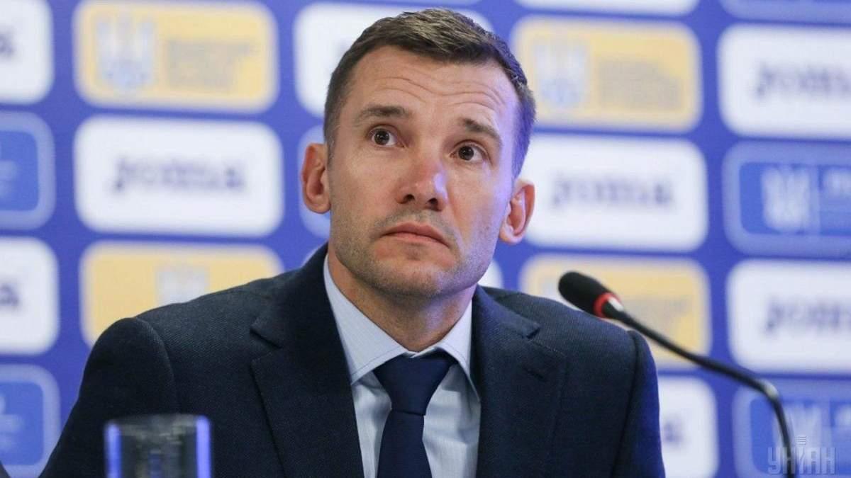 Андрій Шевченко прокоментував гру проти Швейцарії