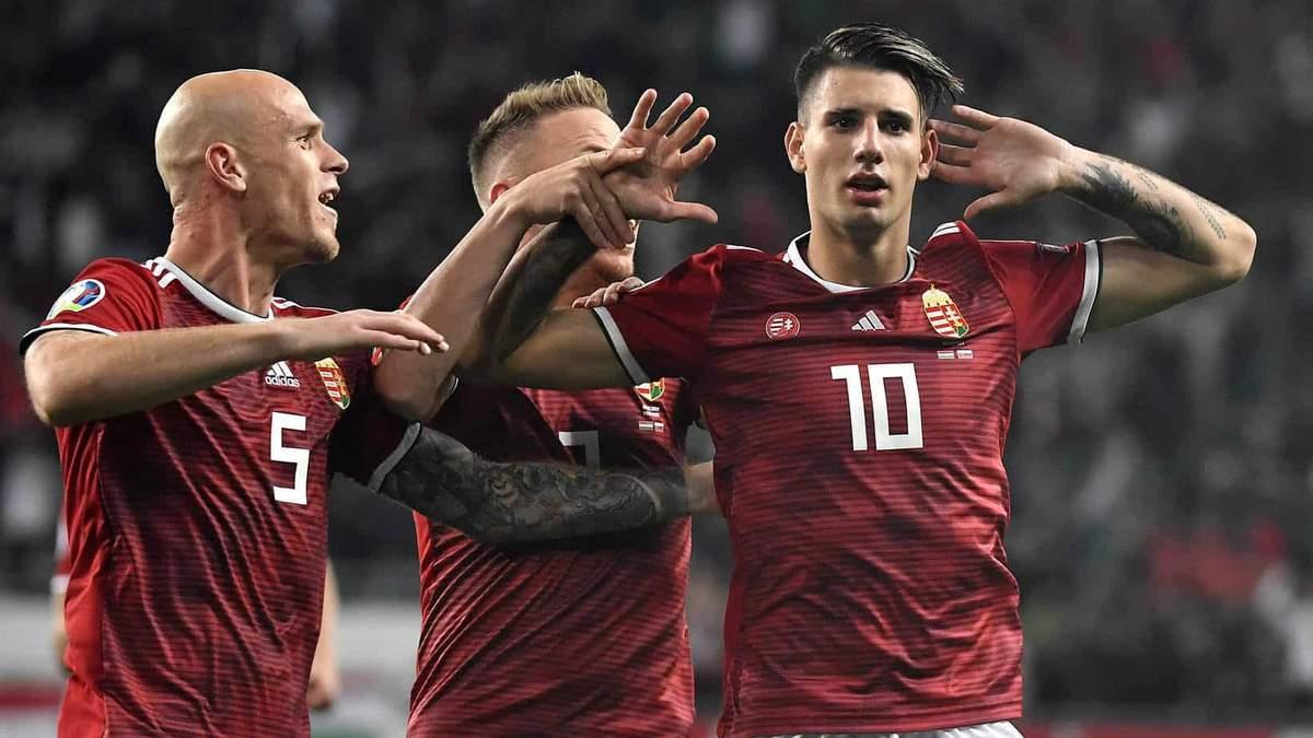 Футболіст збірної Угорщини забив дивовижний гол зі штрафного