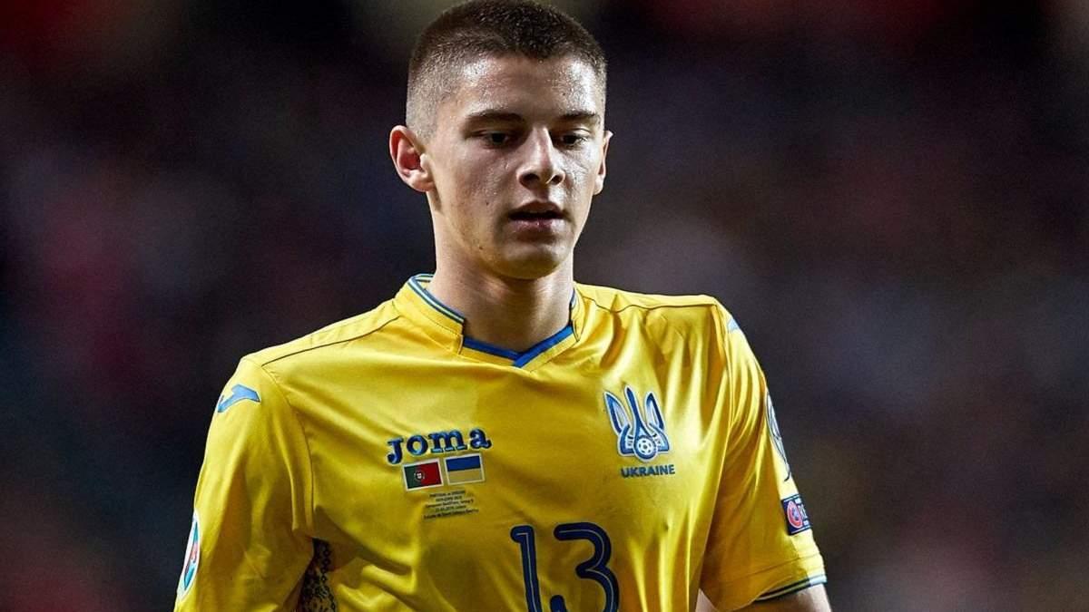 Чому Віталій Миколенко не поїхав на матчі зі збірною України