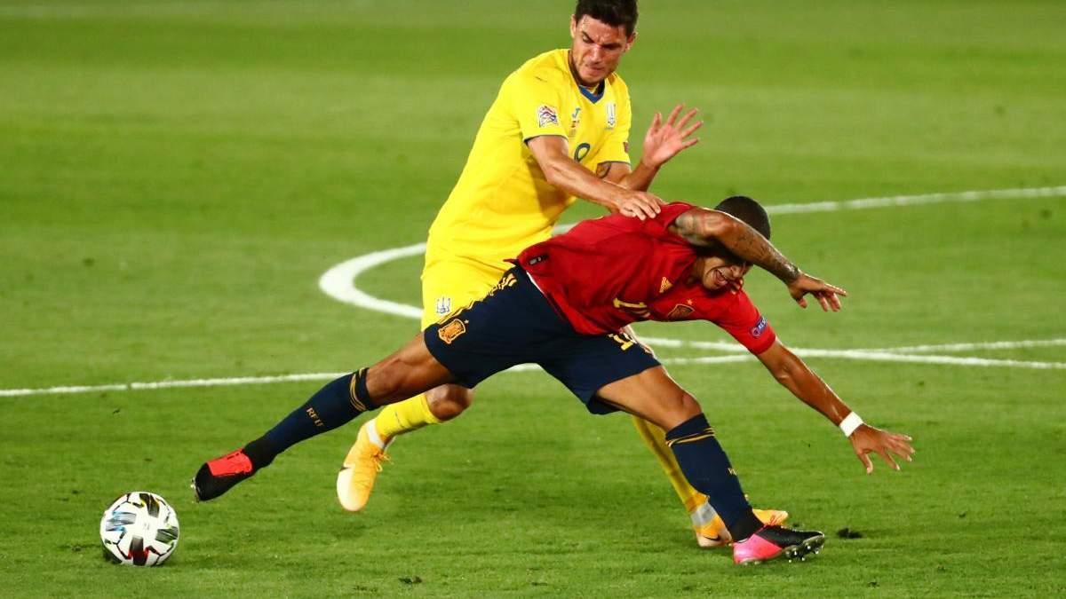 Кто худший игрок сборной Украины в матче с Испанией? Опрос