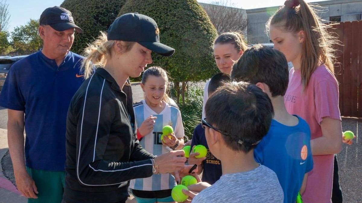 Фонд Элины Свитолиной организовывает лагерь