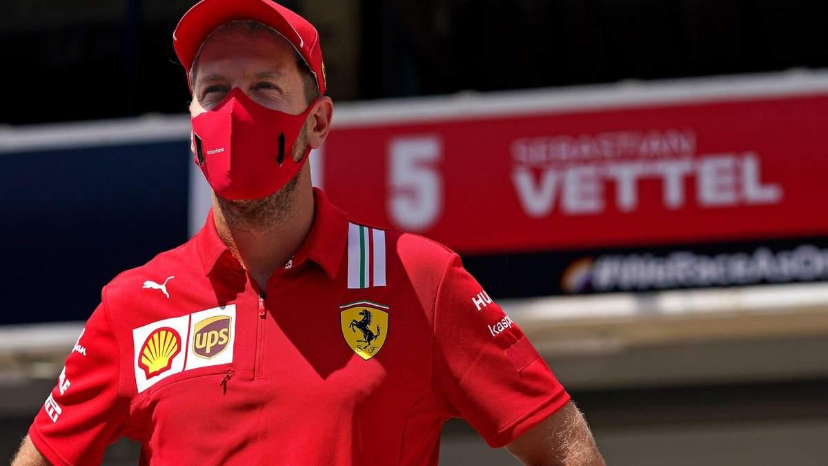 Феттель покидає Ferrari та переходить в Aston Martin