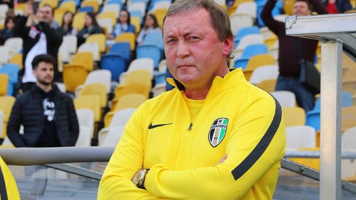 Владимир Шаран против переноса матчей в УПЛ