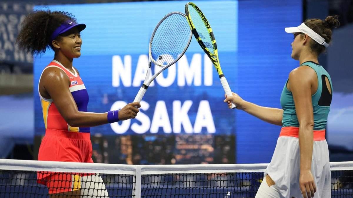 Наомі Осака з труднощами вийшла у фінал турніру