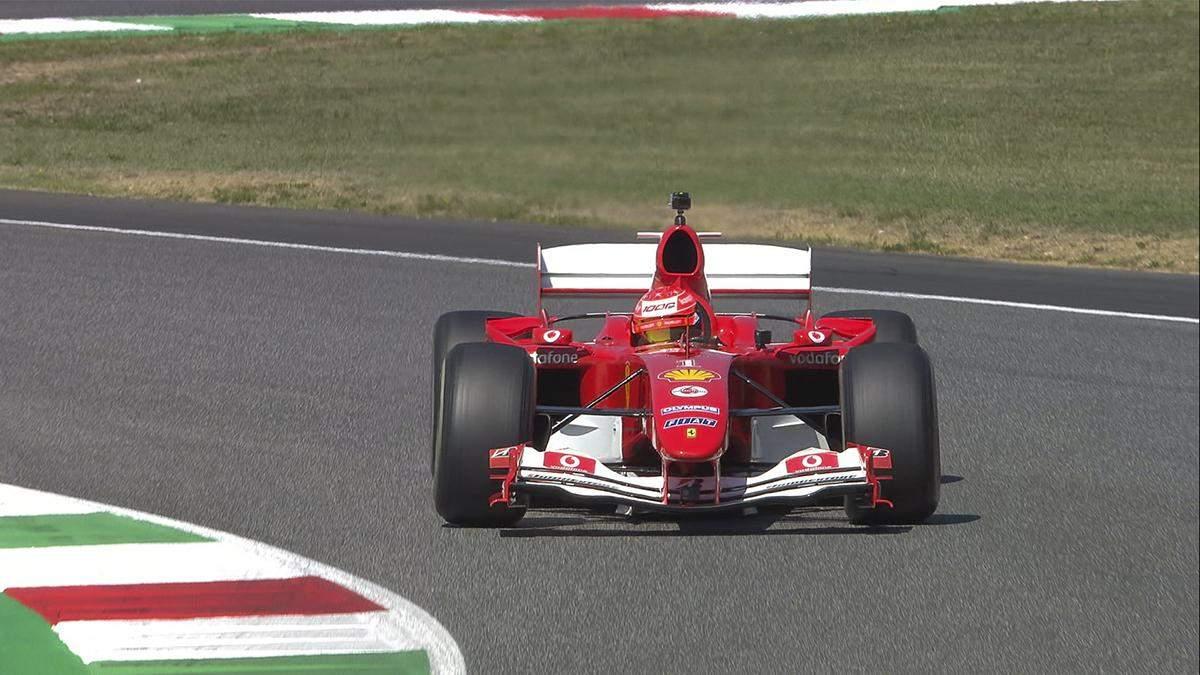 Мік Шумахер за Ferrari F2004