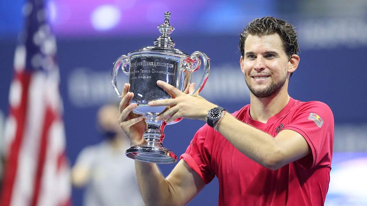 Домінік Тім виграв US Open