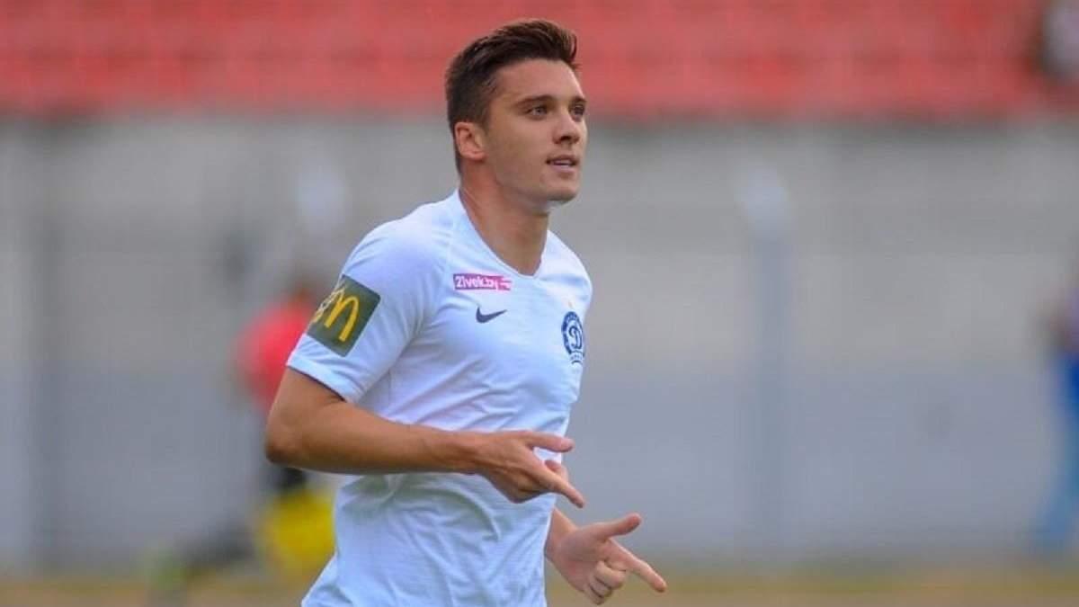 Билоног забил дебютный гол