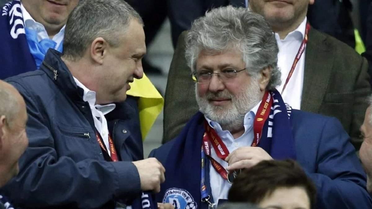 Игорь Суркис и Игорь Коломойский