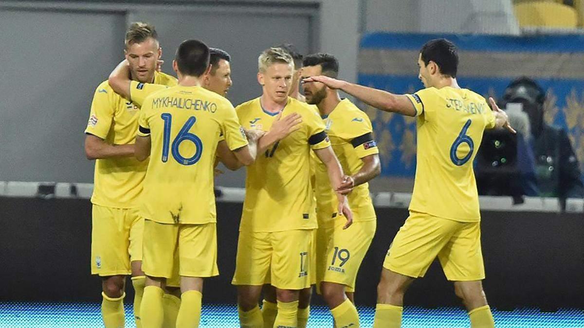 Збірна України зіграє товариський матч з Польщею