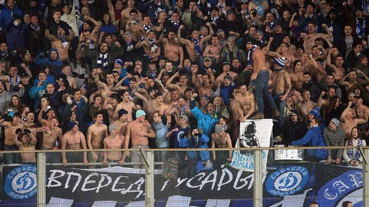 В России дисквалифицировали двух фанатов за выкрики в поддержку Беларуси