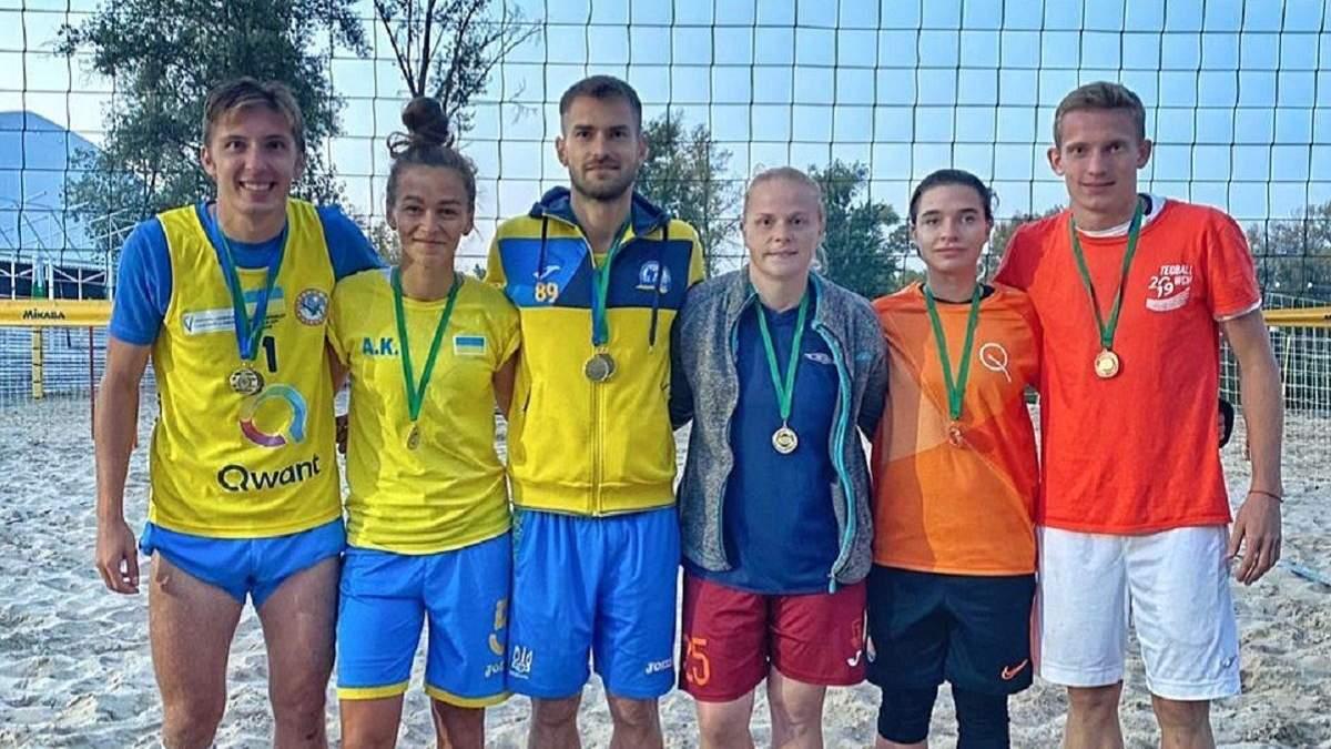 Перші змагання з футбволею в Україні