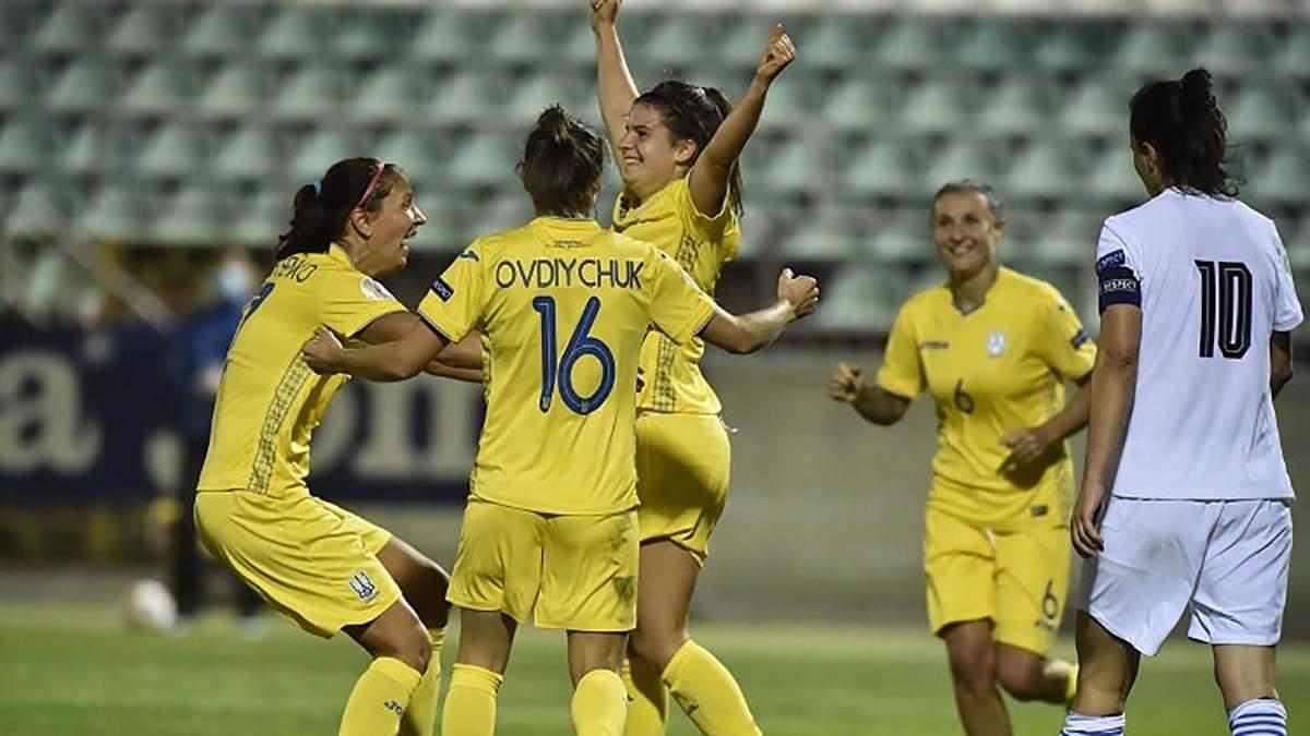 Ніколь Козлова оформила дубль за жіночу збірну України