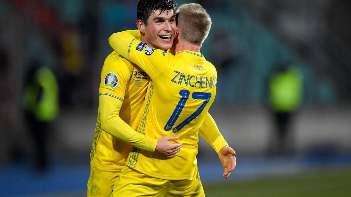 Малиновский и Зинченко в топ-1000 рейтинга FIFA 21