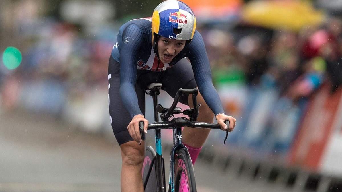 Хлоя Дагерт достроково завершила гонку після падіння