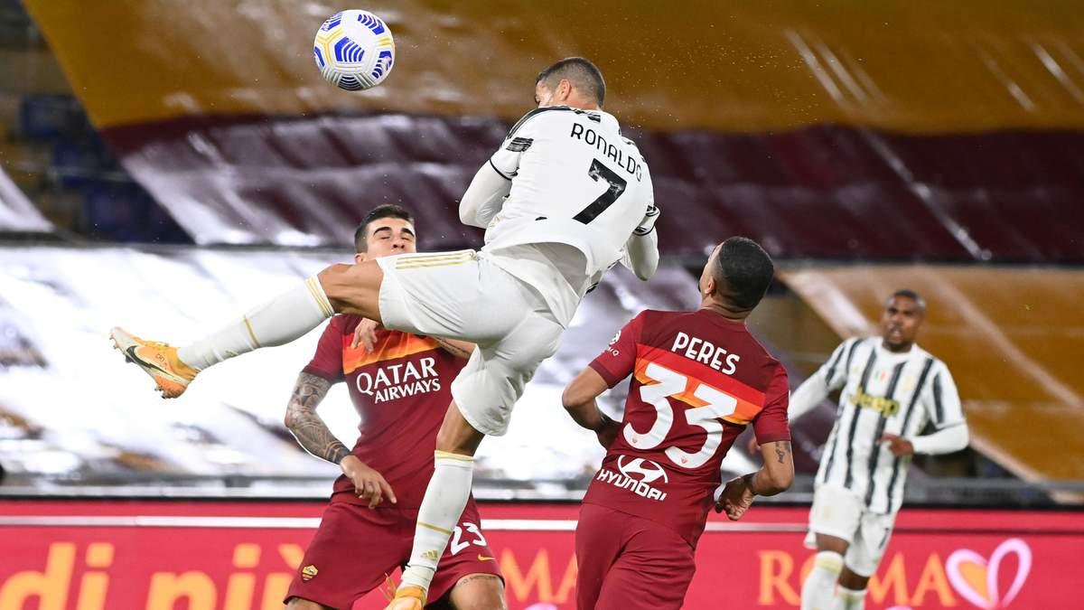 Роналду забил 450 голов в топ-5 чемпионатах