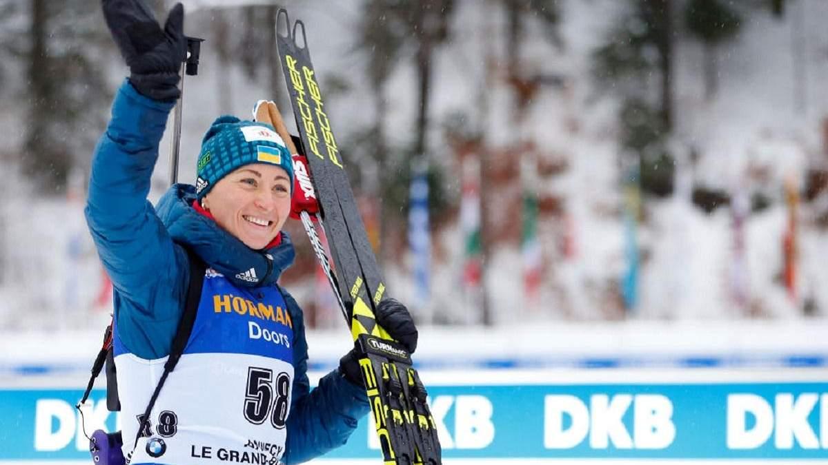 Семеренко вилікувалась від коронавірусу – біатлоністка вже приєдналась до збірної України