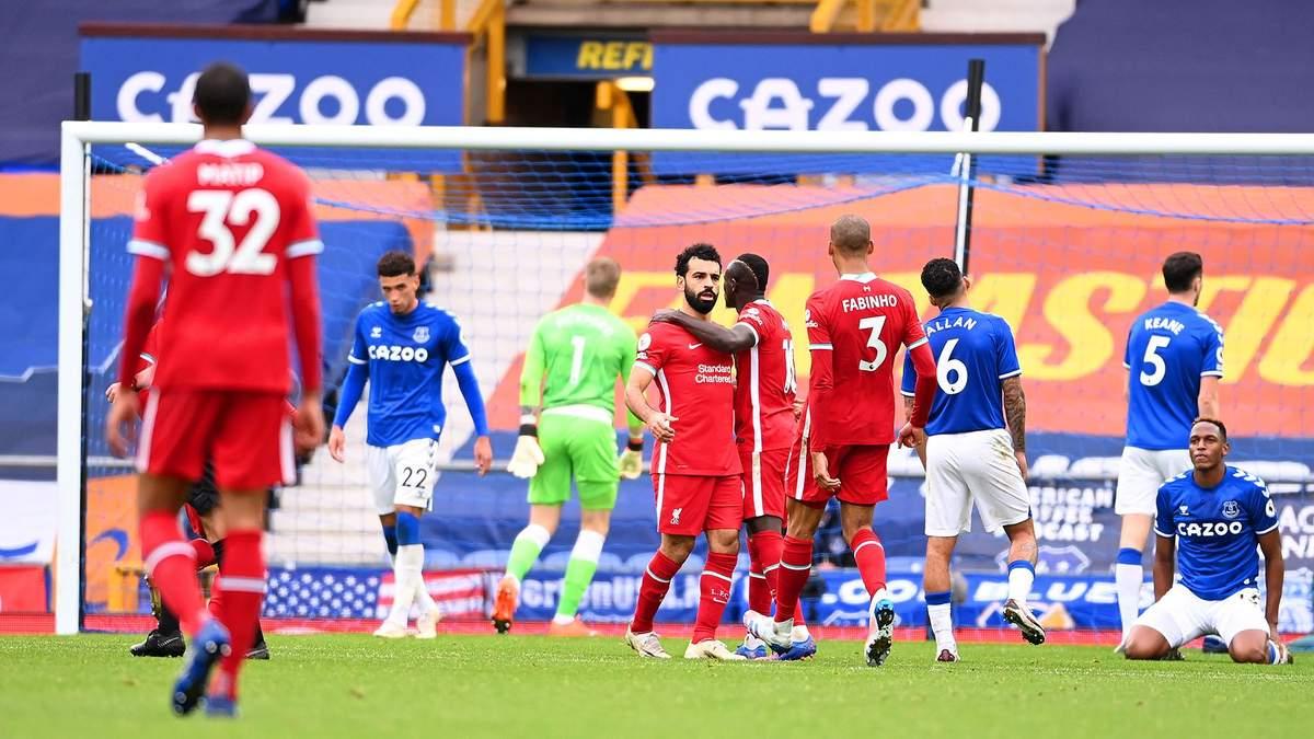 Евертон – Ліверпуль: рахунок і огляд матчу 17.10.2020 – АПЛ