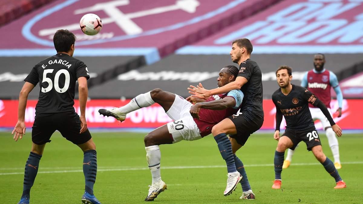 Вест Хем – Манчестер Сіті: рахунок і огляд матчу 24.10.2020 – АПЛ