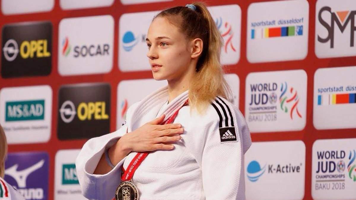 Українська дзюдоїстка Білодід програла вперше за півтора року