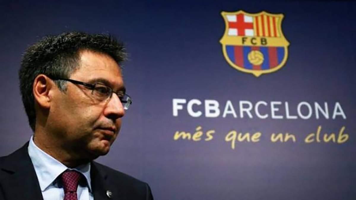 Президент Барселони Бартомеу подав у відставку 27.10.2020