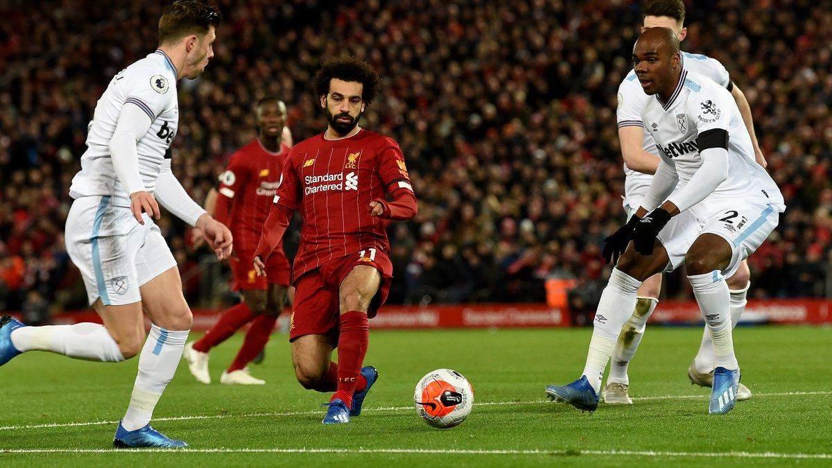 Ліверпуль – Вест Хем: де дивитися онлайн матч 31.10.2020 – АПЛ