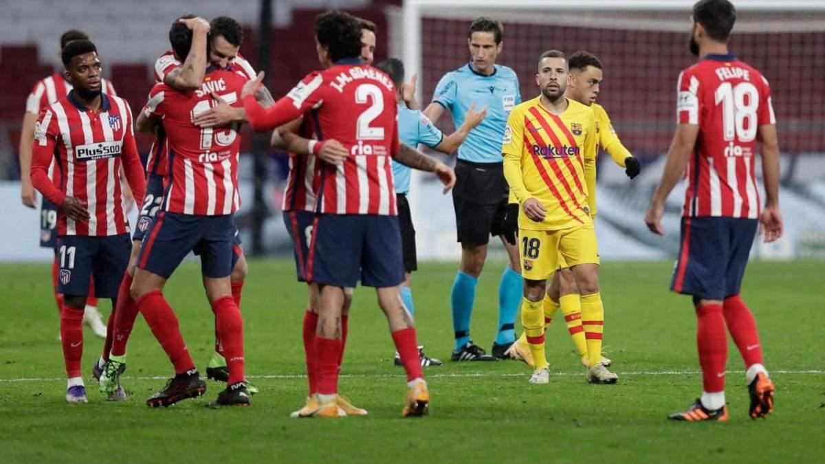 Атлетіко – Барселона: рахунок і огляд матчу 21.11.2020 – Ла Ліга