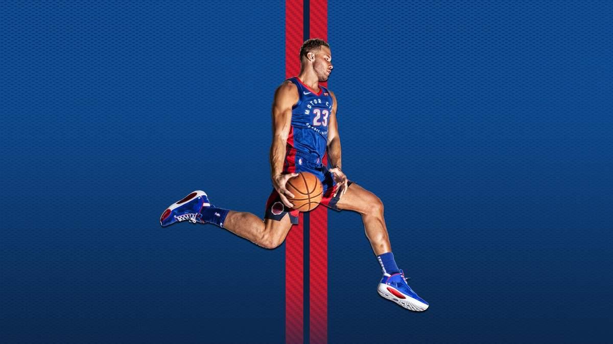"""""""Детройт"""" украинца Михайлюка представил формы на новый сезон НБА: фото и видео"""