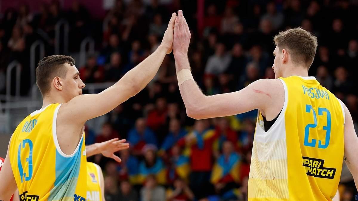 Гравці збірної україни з баскетболу