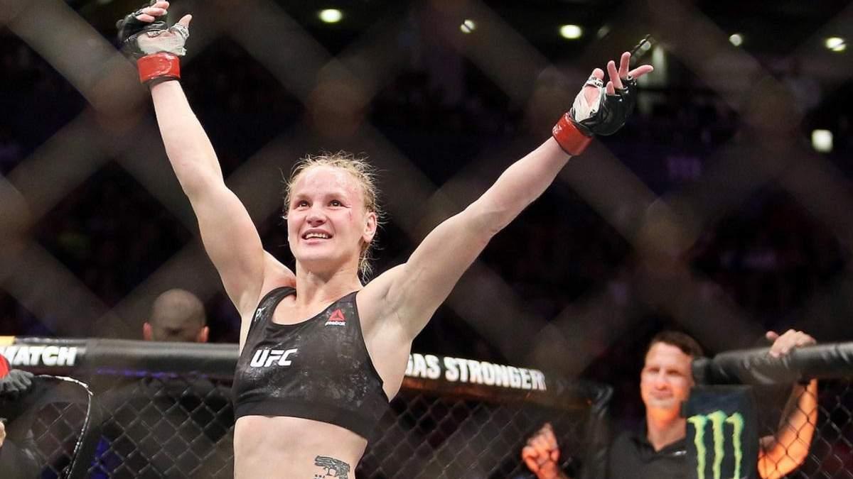 Шевченко виконала яскравий танець після четвертого захисту титулу UFC: відео