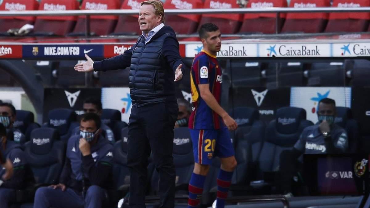 """Куман покине """"Барселону"""": тренер висунув ультиматум клубу щодо трансферу захисника"""