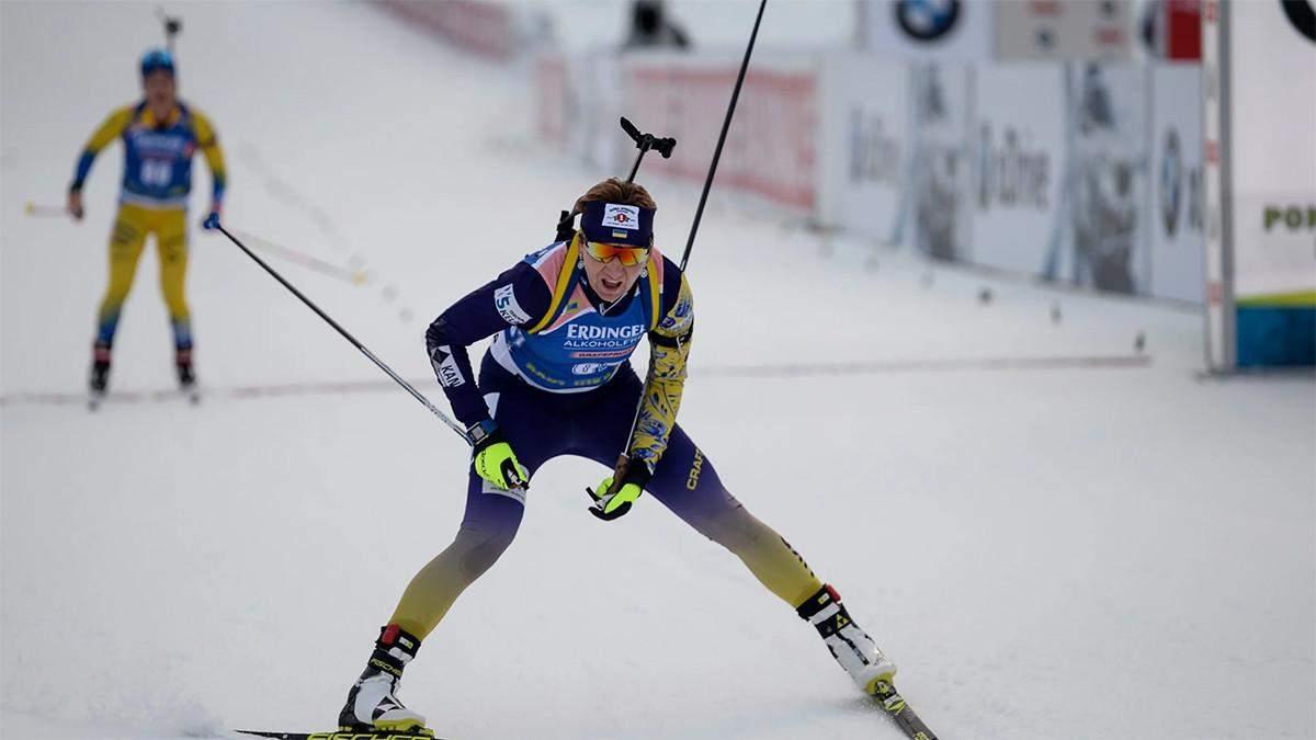 Пидгрушная и Пидручный выиграли индивидуальные гонки перед началом нового биатлонного сезона