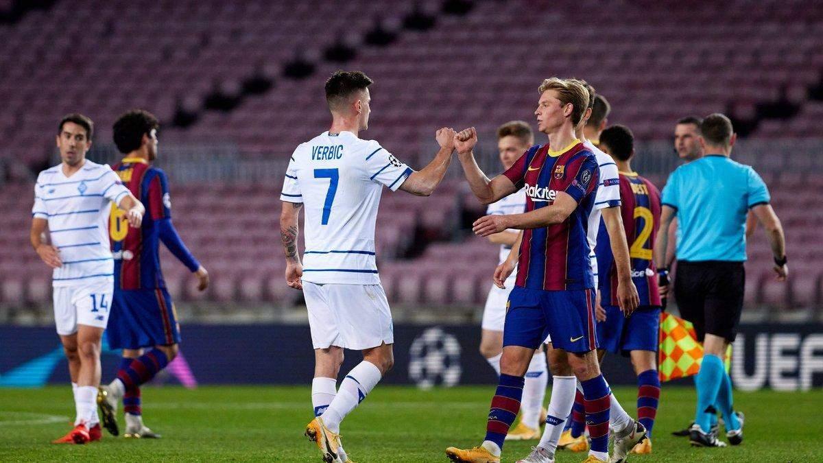Динамо – Барселона: УЄФА призначив бригаду арбітрів на матч Ліги чемпіонів