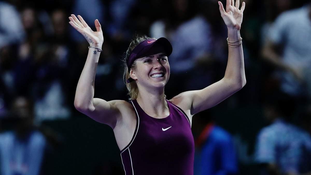 Світоліна увірвалась у топ-10 найуспішніших тенісисток за кількістю перемог