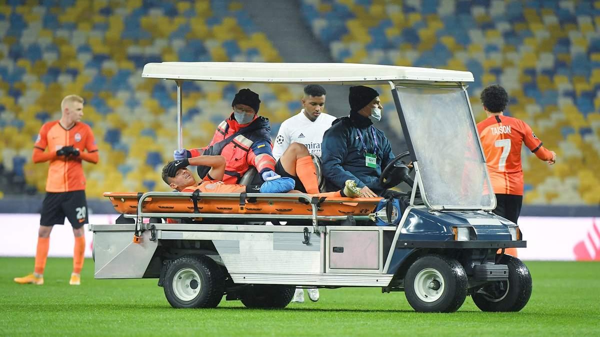 Жуніор Мораес отримав травму