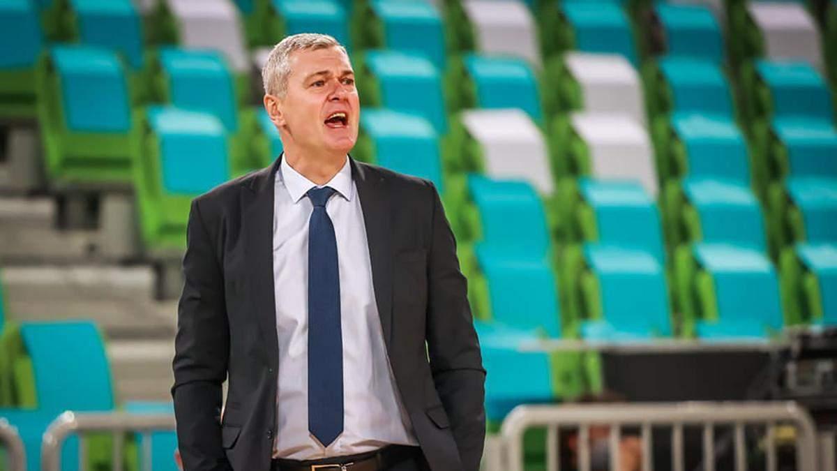 Главный тренер сборной Украины по баскетболу заразился коронавирусом