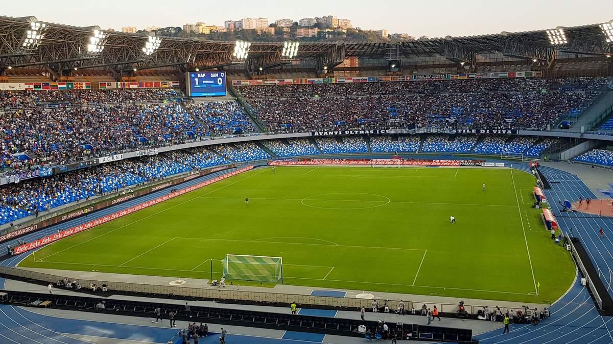 Стадион Наполи Сан-Паоло переименовали в честь Диего Марадоны