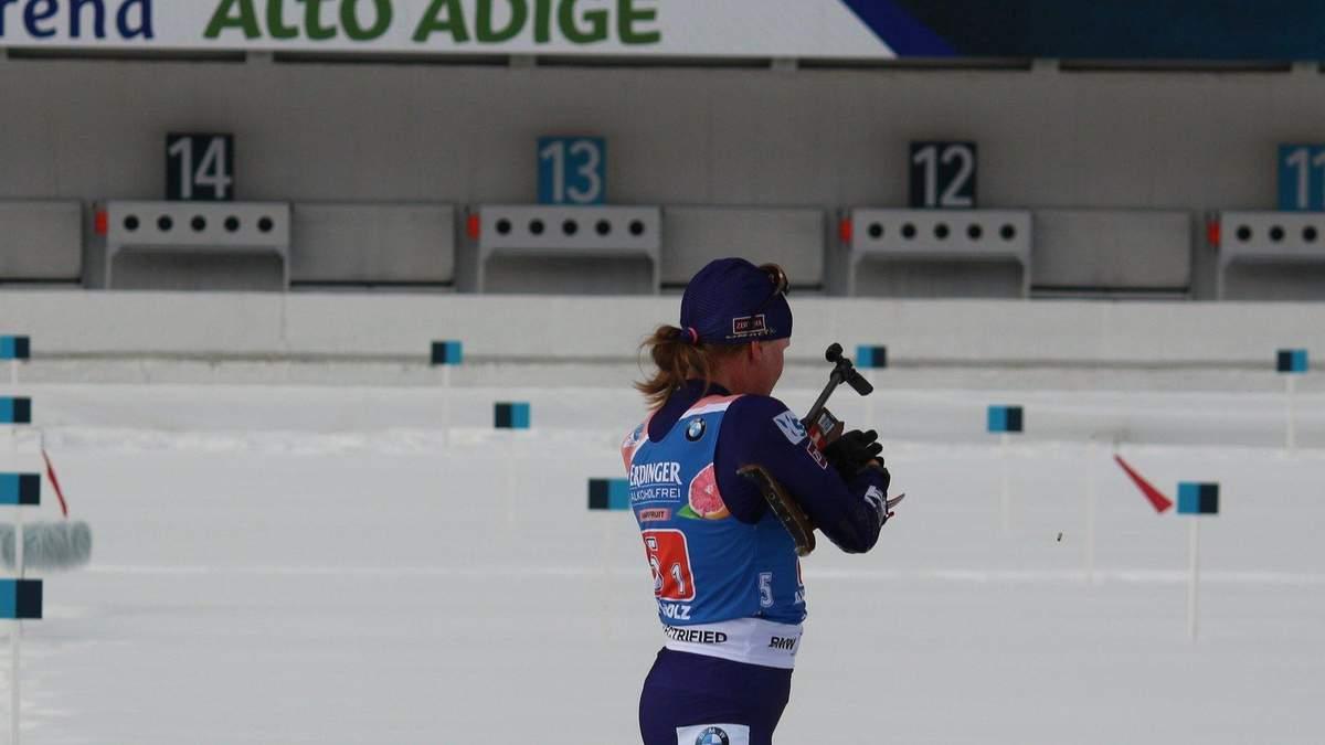 Україна фінішувала п'ятою у першій біатлонній естафеті сезону, перемогла Швеція