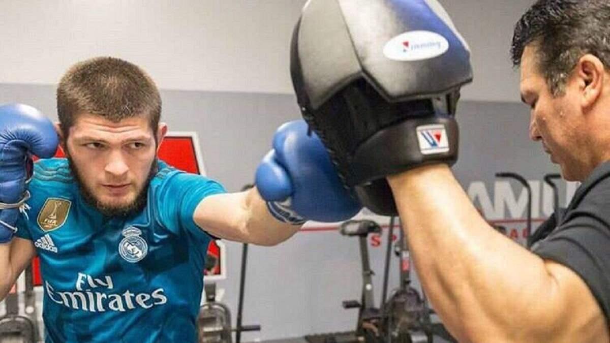 Вперед, Реал: чемпион UFC Хабиб следит за матчами в группе Шахтера в Лиге чемпионов