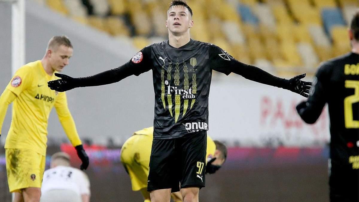 19-річний забивний форвард Руха стане одноклубником Михайліченка у Бельгії