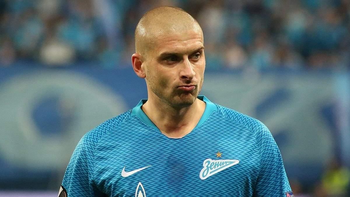 Зарядив з лівої: Ракіцький забив за Зеніт вперше з жовтня 2019 року – відео