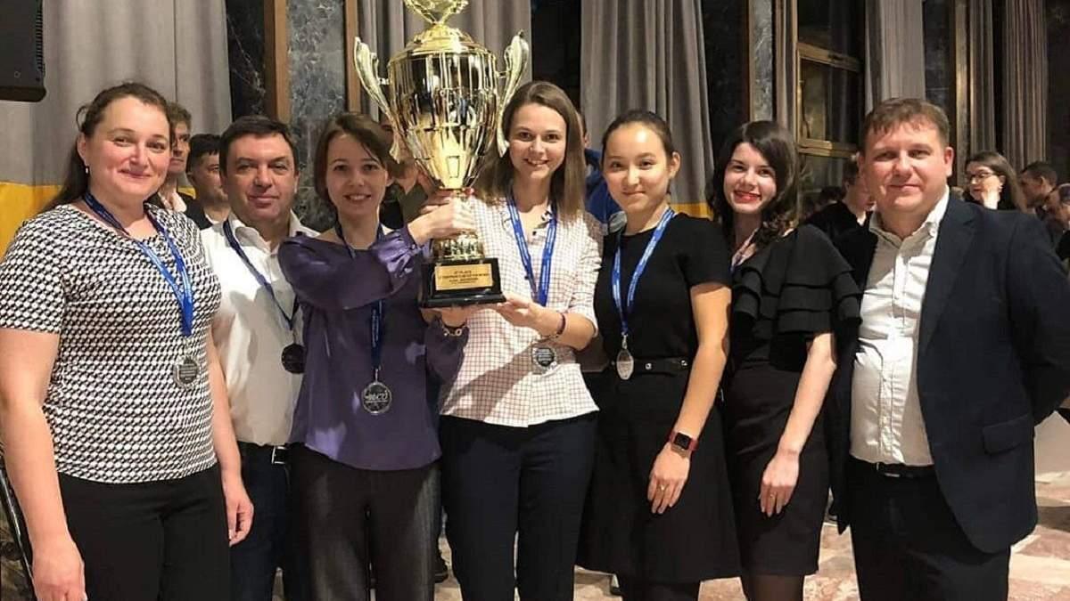 """Kyiv Chess Federation - Greco"" – віцечемпіон Європи-2019"