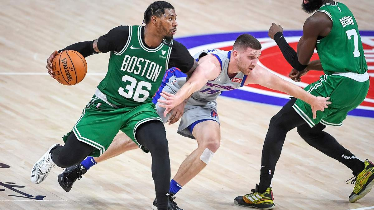 Снайперская меткость Михайлюка принесла первую победу Детройту в НБА