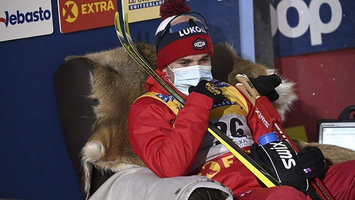 Російські лижники Євгєній Бєлов і Олексій Чєрвоткін збили одне одного