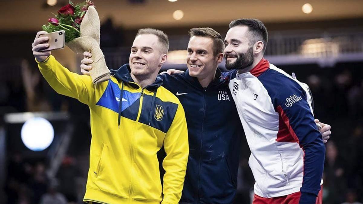 Украинский гимнаст Олег Верняев отстранен от соревнований: причина