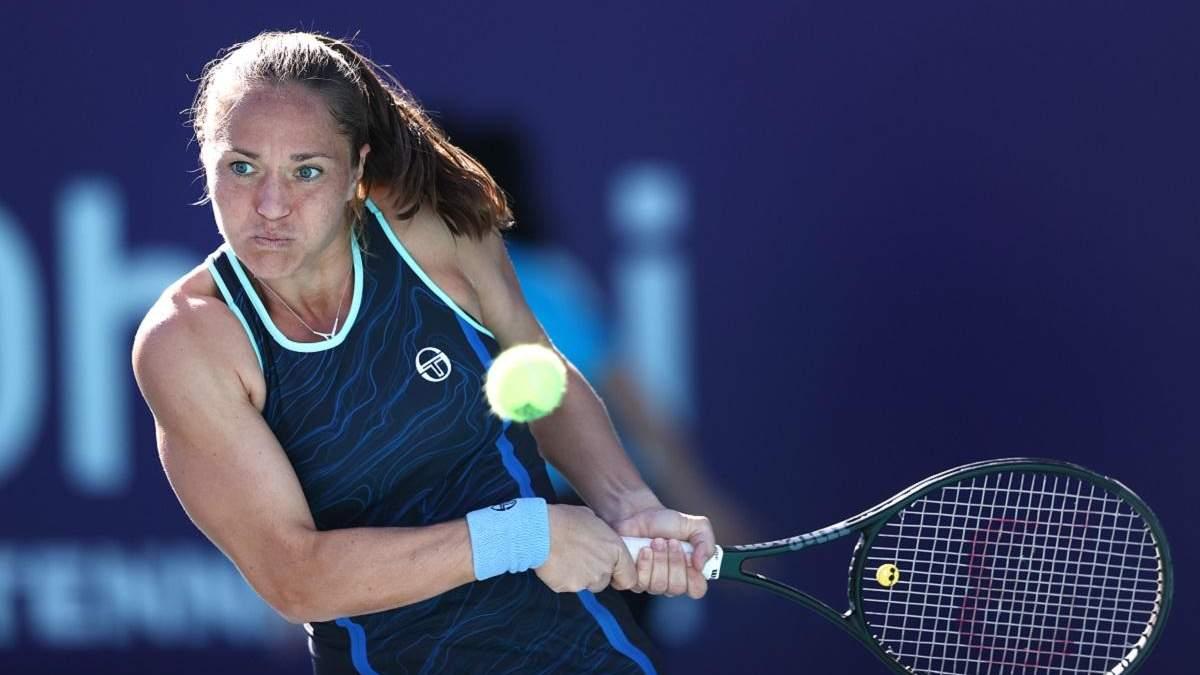 Бондаренко обидно уступила Жабер в 1/16 финала турнира в Абу-Даби