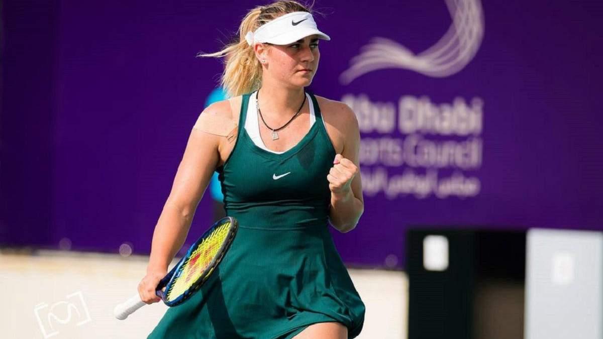 Костюк на характері перемогла Се у драматичному матчі за путівку в 1/8 фіналу в Абу-Дабі
